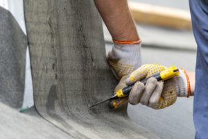 roofing debris cleanup contractor help