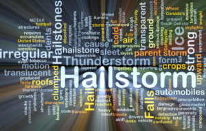 Hailstorm roof repair weather conditions