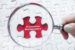 preventive maintenance roof leak repair